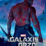 Galaxis őrzői karakterplakát Drax