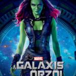 Galaxis őrzői karakterplakát Gamora 1
