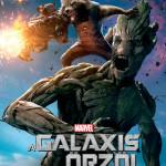 Galaxis őrzői karakterplakát Rocket Groot