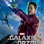 Galaxis őrzői karakterplakát Starlord