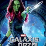 Galaxis őrzői karakterplakát Gamora 2