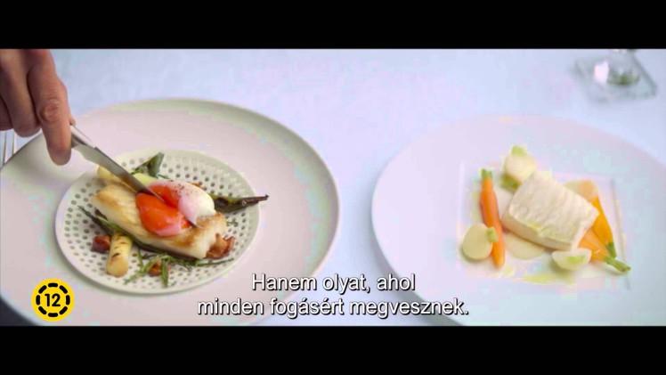 Az ételművész (12E)