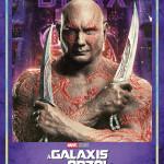 A galaxis őrzői vol. 2. karakterposzter